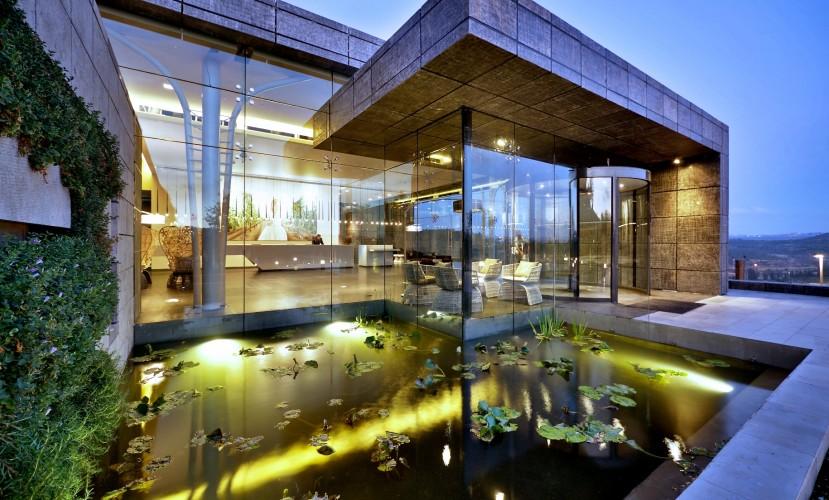 SPA-отель с винной тематикой под Иерусалимом