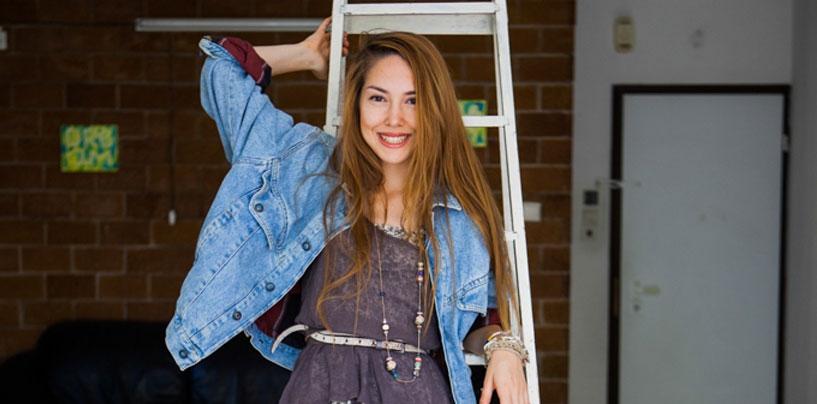 Елена Калинина — 21 год, солдат, модель и свободный музыкант (Герцлия)