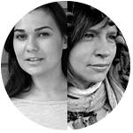 Василина Туницкая и Кристина Макаровски