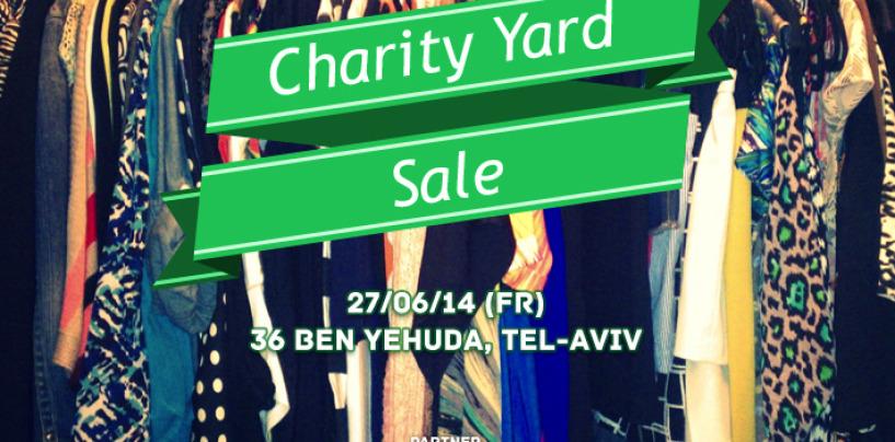 Благотворительная распродажа в Тель-Авиве