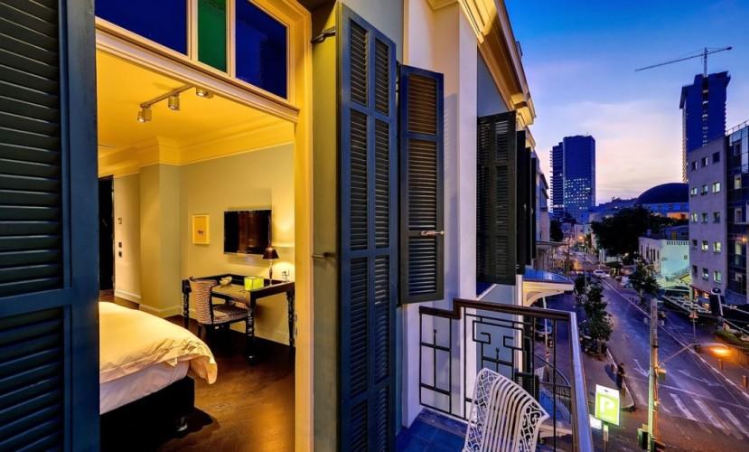 Топ-10 бутик-отелей Тель-Авива