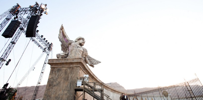 Опера «Тоска» у подножья крепости Масада