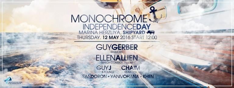 monochrome party