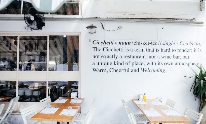 Ресто-бар Cicchetti