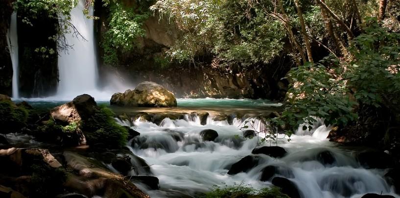 Заповедник и водопады Banias на севере