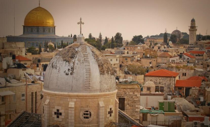 Иерусалим и море