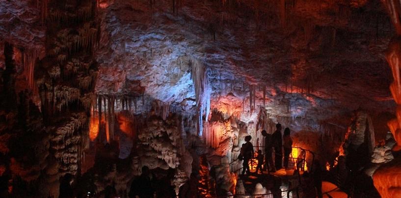Сталактитовые пещеры