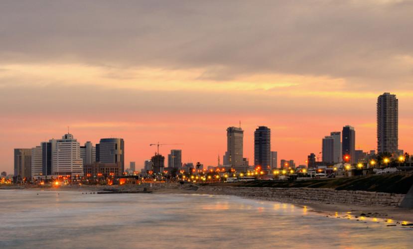 Тель-Авив глазами Егора и Кристины Альтман