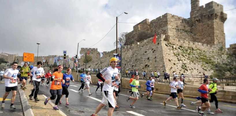Пятый международный марафон 2015 в Иерусалиме