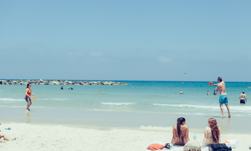 Израиле пляж сексуални
