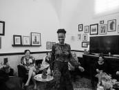 В Nine Rooms состоялась закрытая презентация новой коллекции Lara Rosnovsky