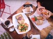 Три главных вегетарианских кафе Тель-Авива