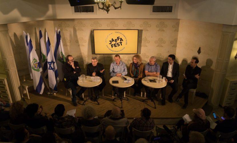 На пресс-конференции в театре «Гешер» была представлена программа Jaffa Fest