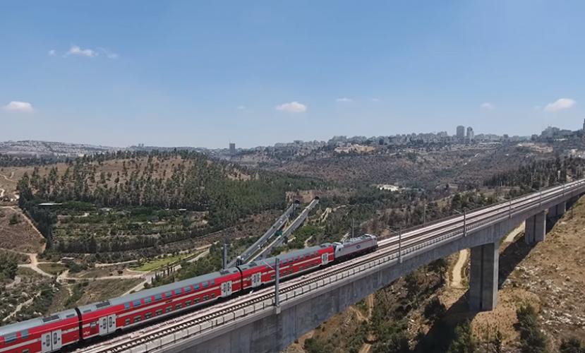 Прямая ж/д линия Тель-Авив–Иерусалим откроется до конца 2019