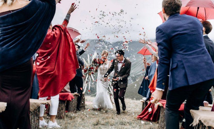 Израильская свадьба за границей
